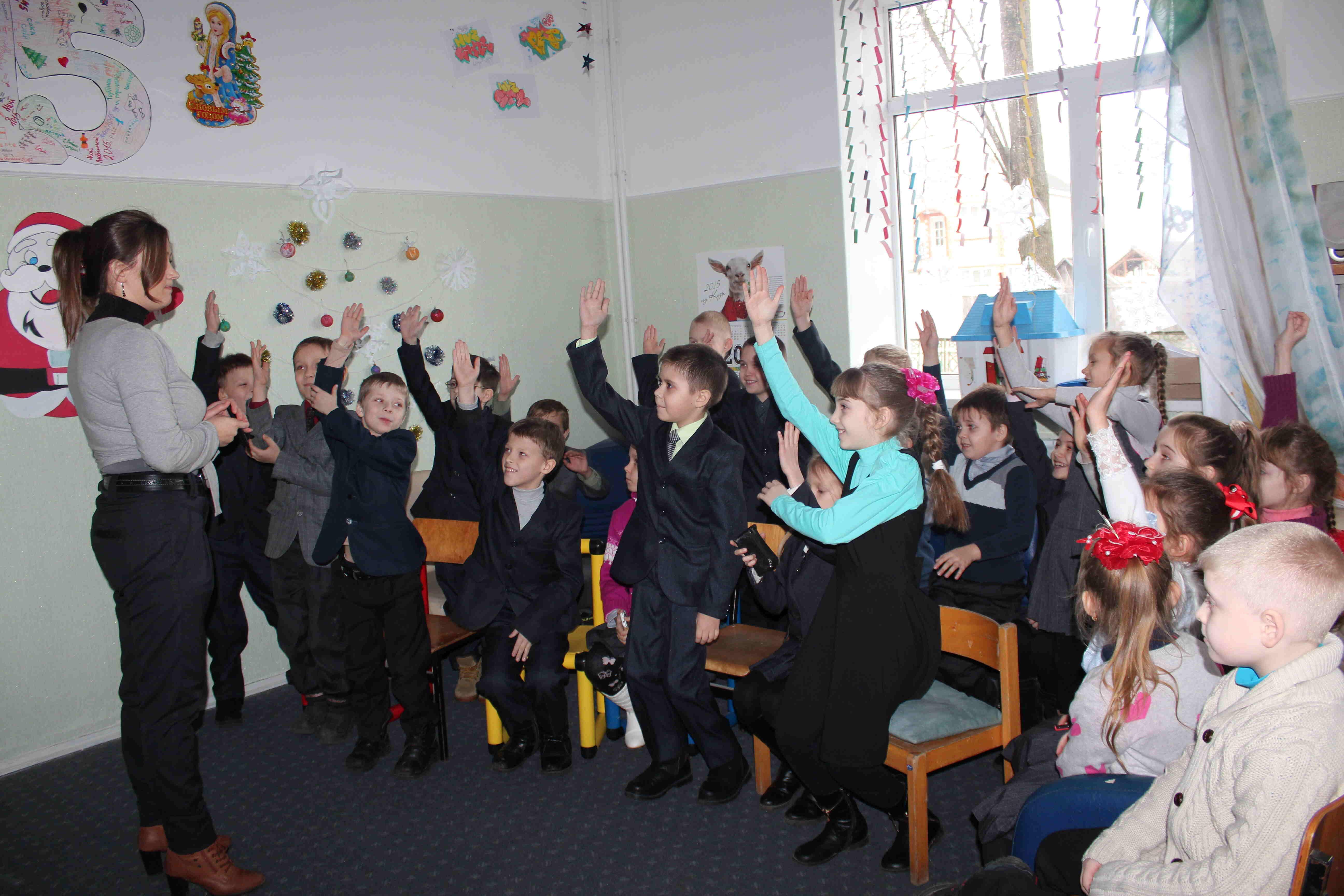 На неформальных занятиях школьники учатся здоровому образу жизни