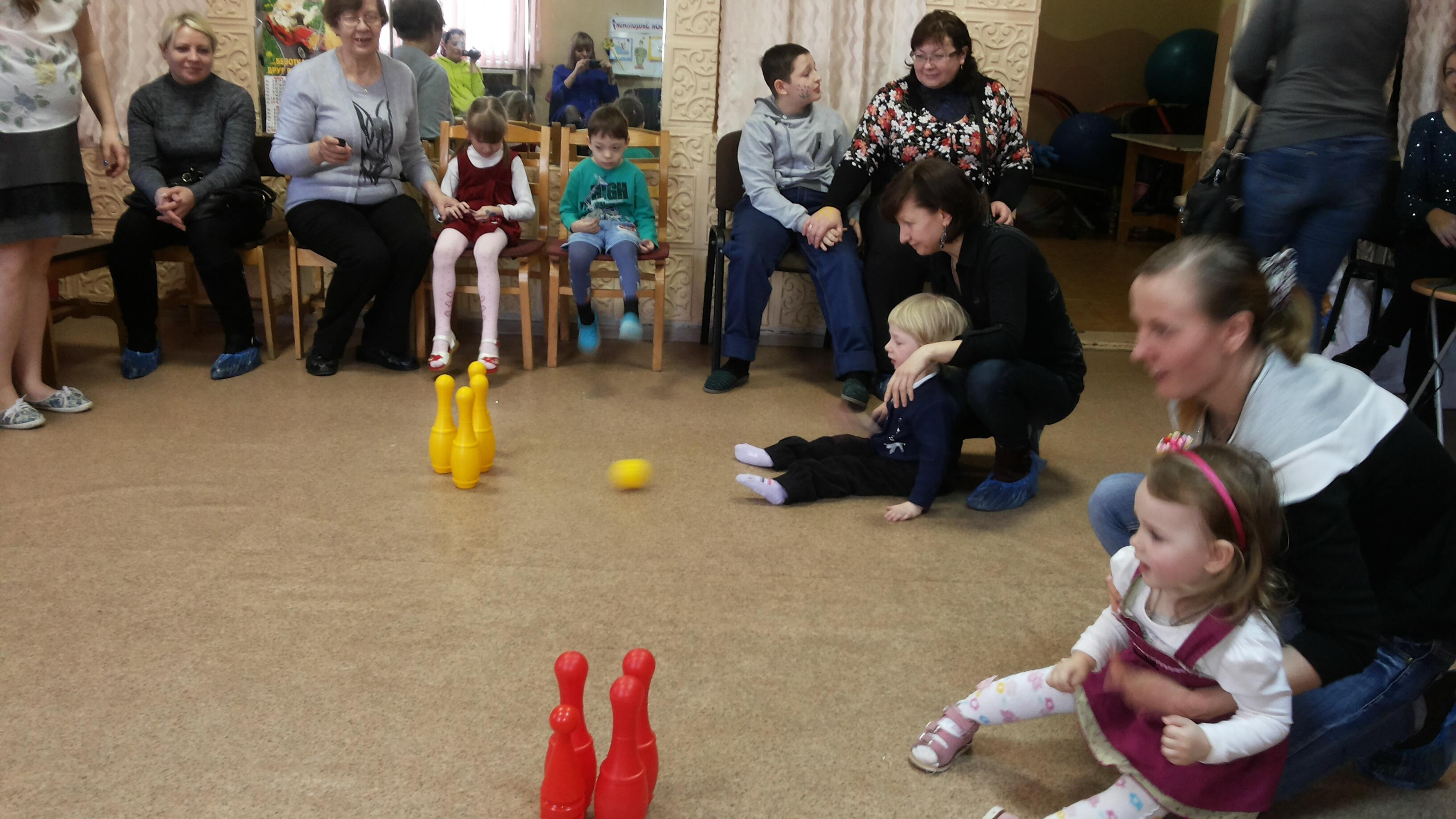 Волонтеры встретили с детьми весну