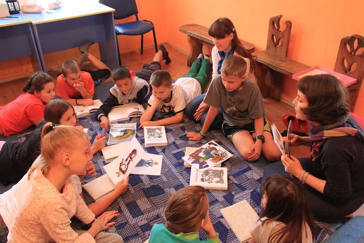 Сотрудники-радимичи провели увлекательные Дни чтения в детском лагере «Новокемп»