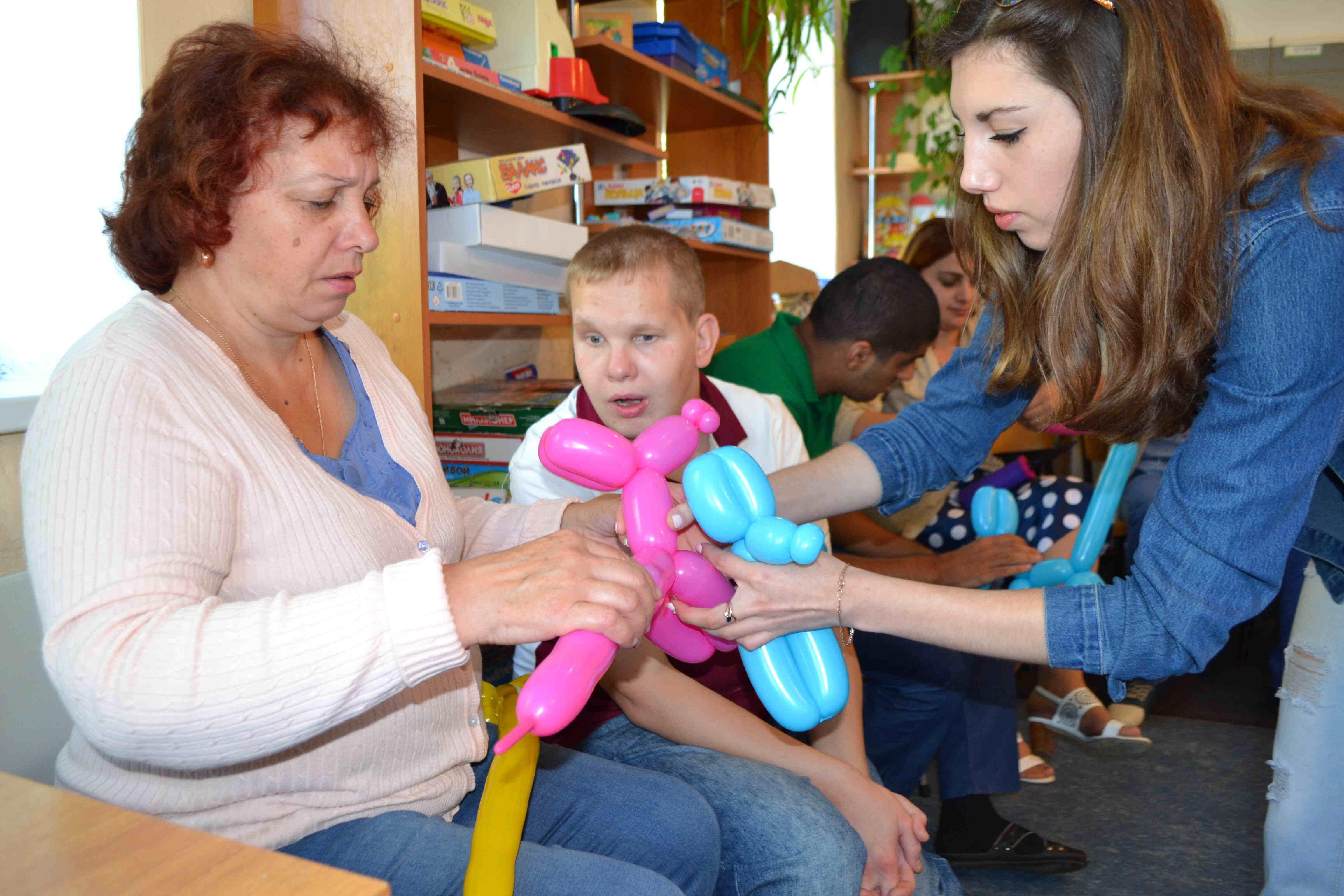 Клуб общения «Радимичи» открыт для детей-инвалидов