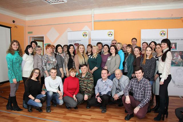 В общественной организации «Радимичи» делились опытом по разработке социально значимых проектов