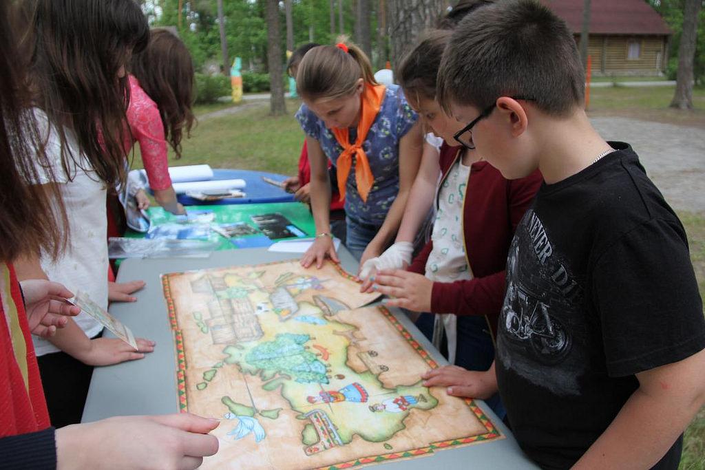 12 июня 2017 года в детском лагере «Новокемп» праздновали День России!