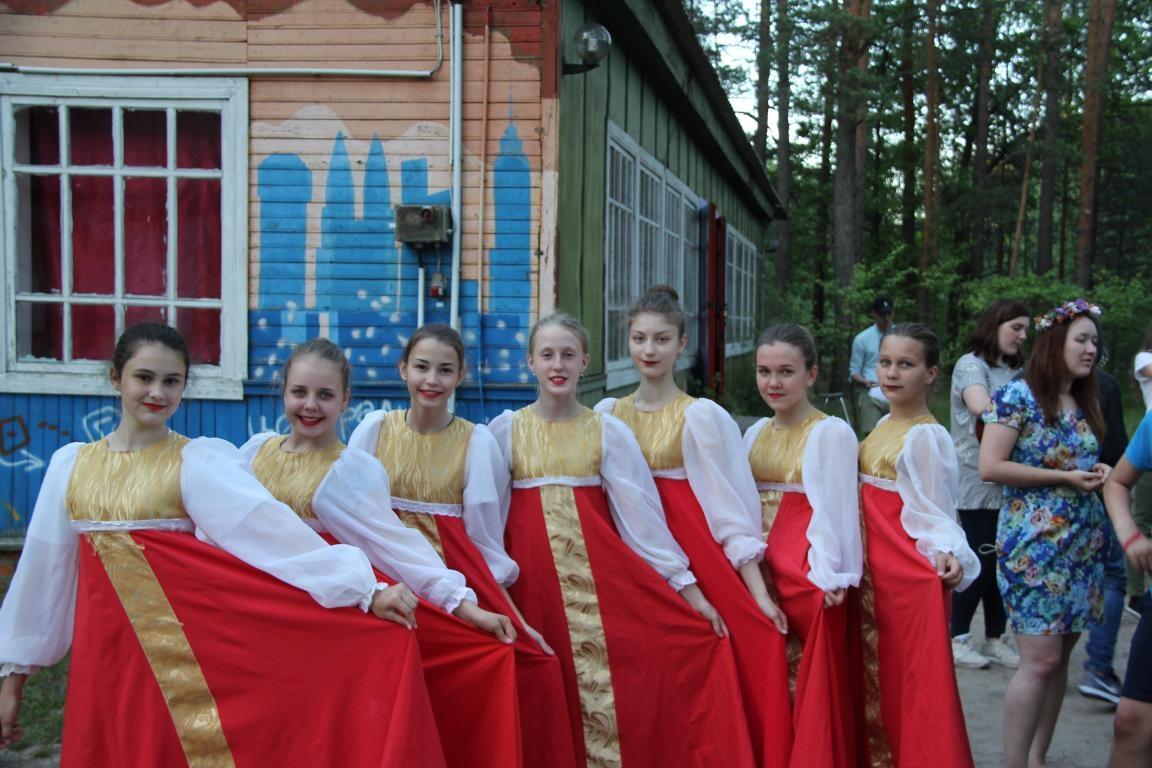 «Я живу в России!» — молодежный проект в детском лагере «Новокемп»