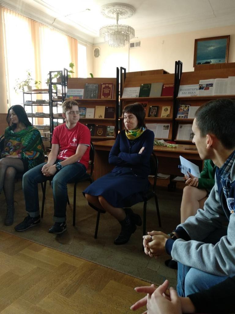 Команда общественной организации «Радимичи – детям Чернобыля» на  Открытом форуме волонтеров