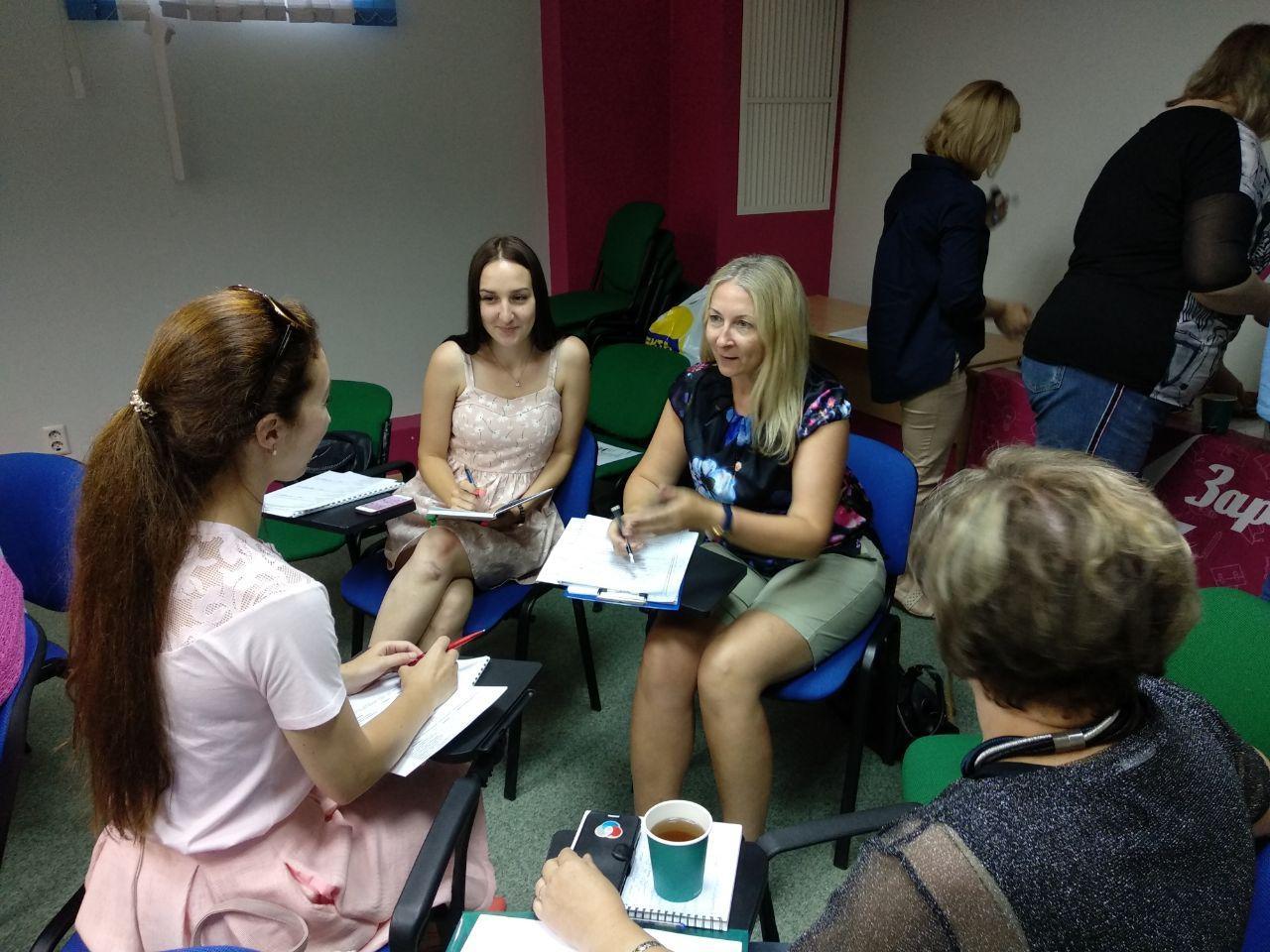 На мастер-классе радимичи учились новым методам проведения эффективной презентации социального проекта