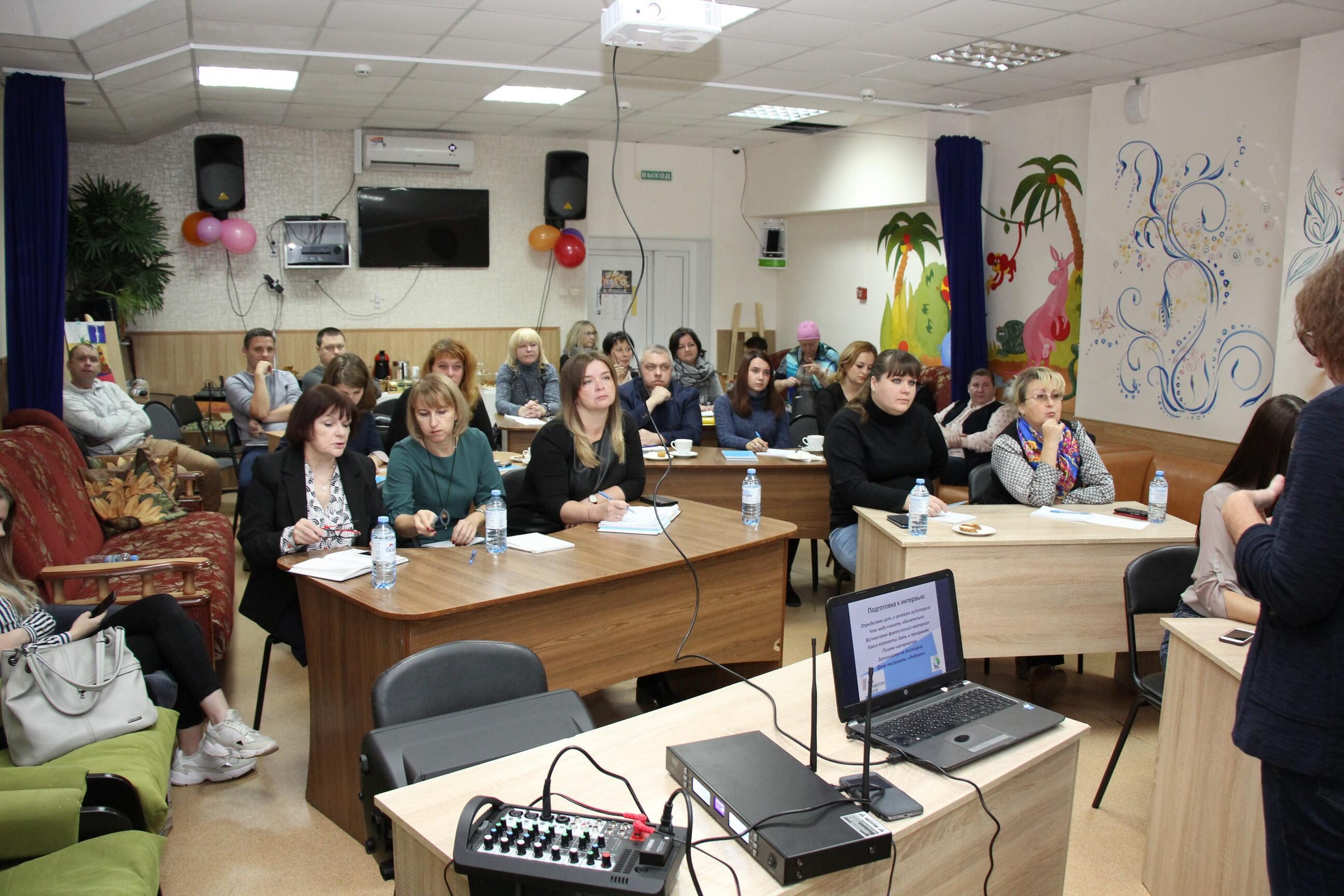 В Брянске прошел мастер-класс «Как интересно рассказать о своем социальном проекте»