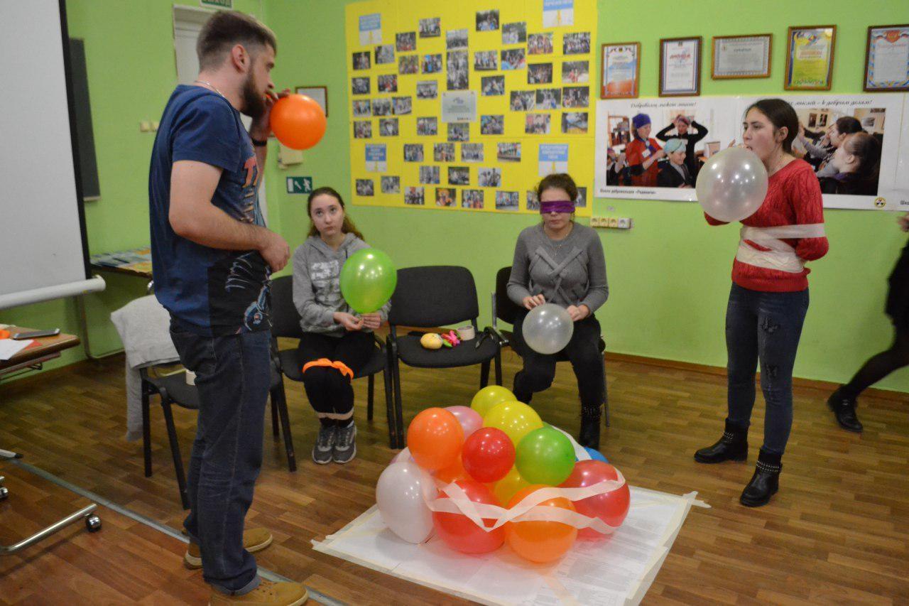 Волонтеры проекта «Социально-реабилитационный центр Радимичи для детей с ограниченными возможностями»
