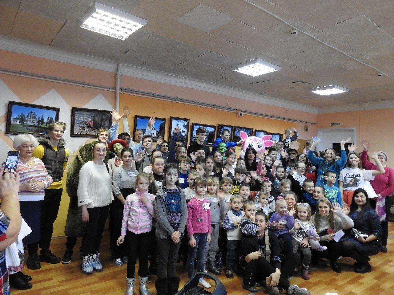 В Социально-реабилитационном центре «Радимичи» играли все месте: дети, родители, бабушки, дедушки и волонтеры.