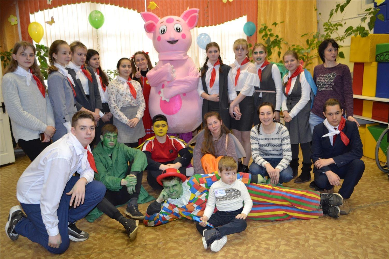 Лунтик и его друзья приехали в Клинцовский реабилитационный центр
