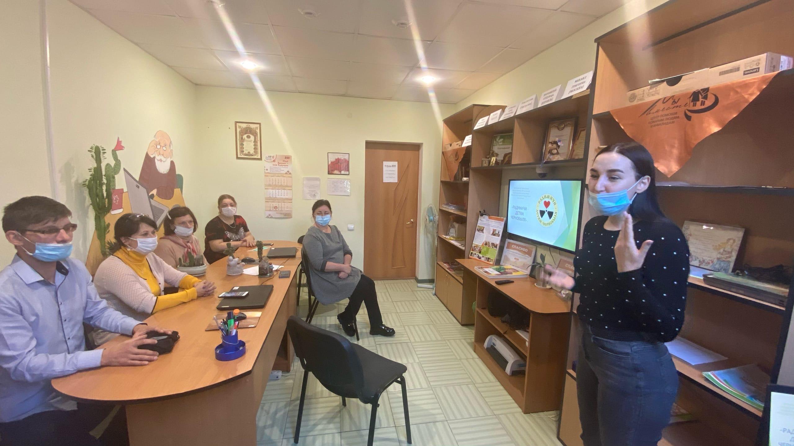 Радимичи встретились с «серебряными» волонтёрами общественной организации «Мы вместе»