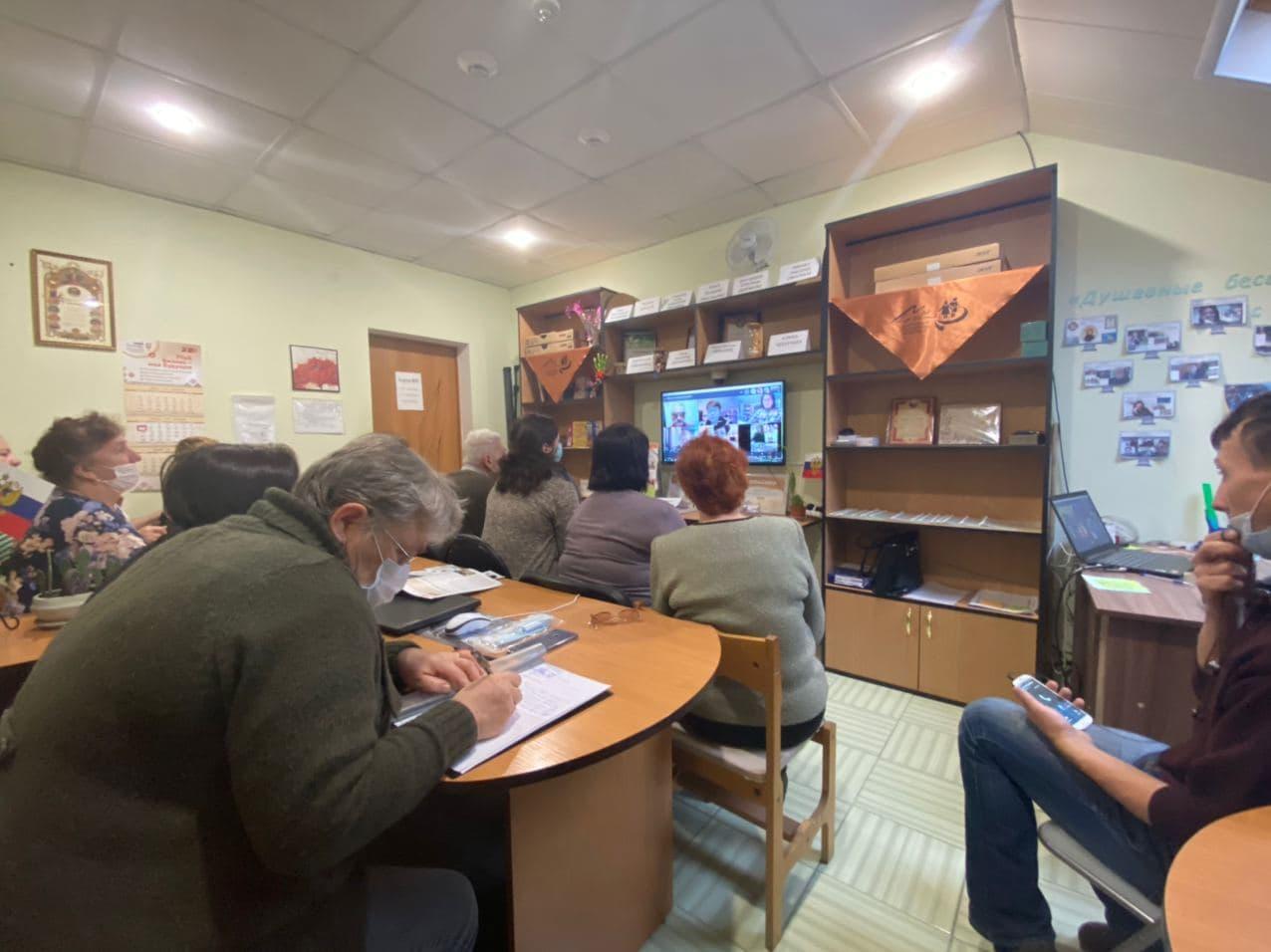 10 декабря в Центре помощи пожилым людям и инвалидам «Мы вместе» прошла встреча с общественниками из Калининградской области (г.Черняховск).