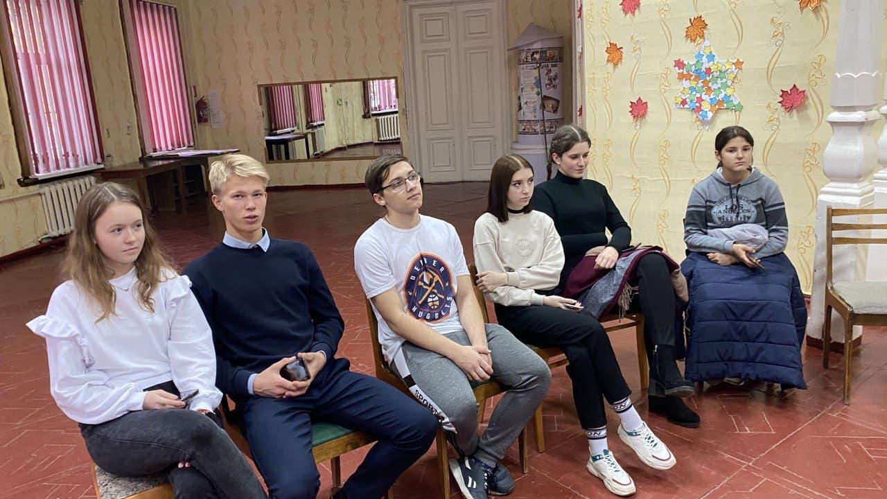Знакомство волонтеров в общественной организации «Радимичи».