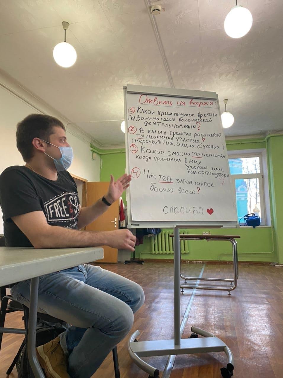 Встреча активистов Добровольческой службы «Радимичи» с заместителем Губернатора Брянской области Александром Коробко