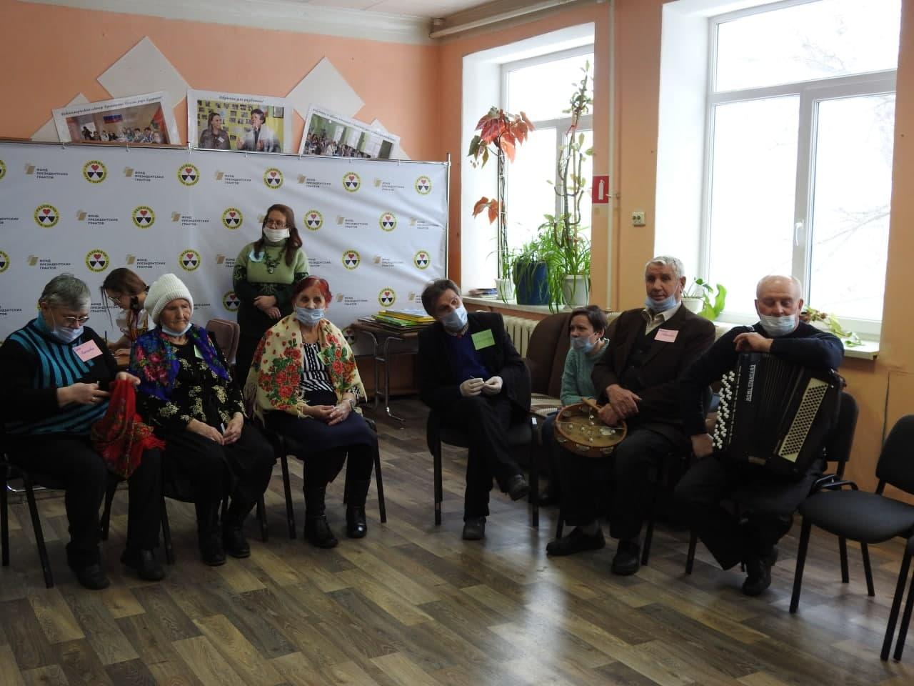 В общественной организации «Радимичи» праздновали Масленицу