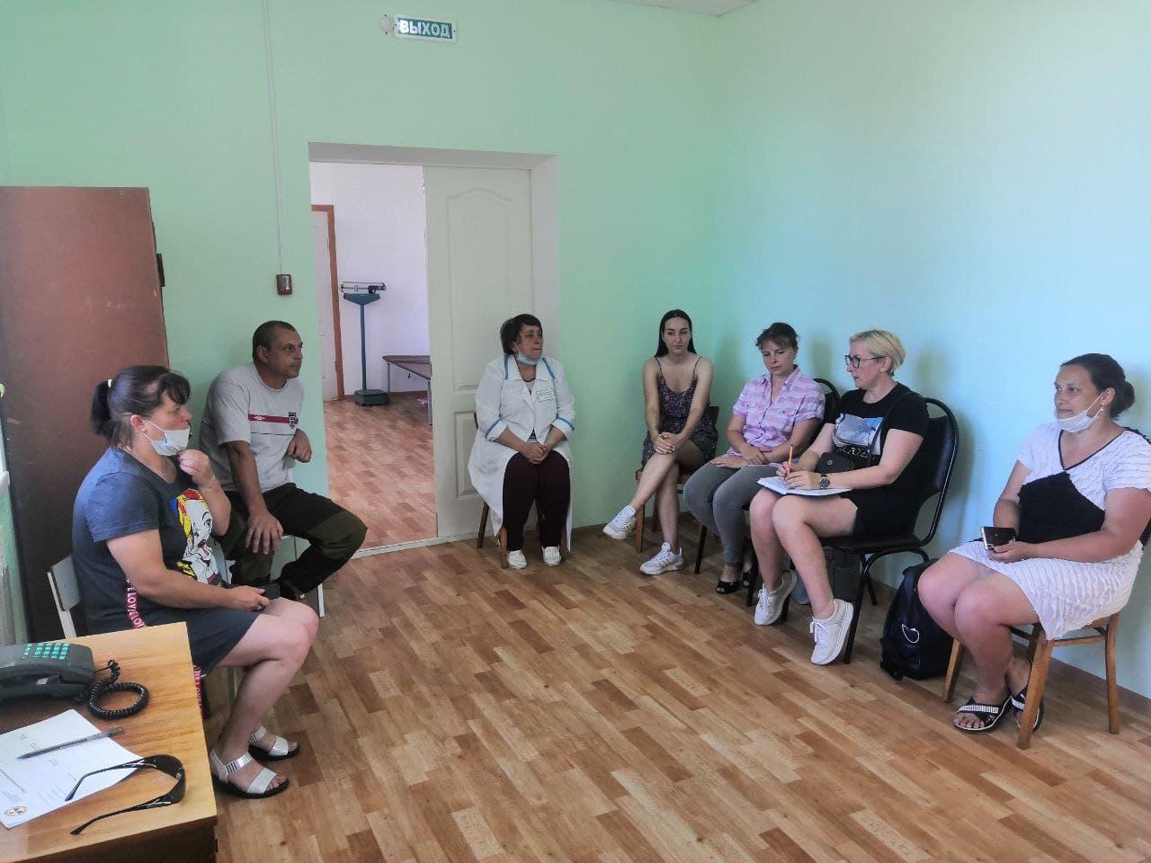 Встречи с инициативными жителями, проживающими в Новозыбковском районе