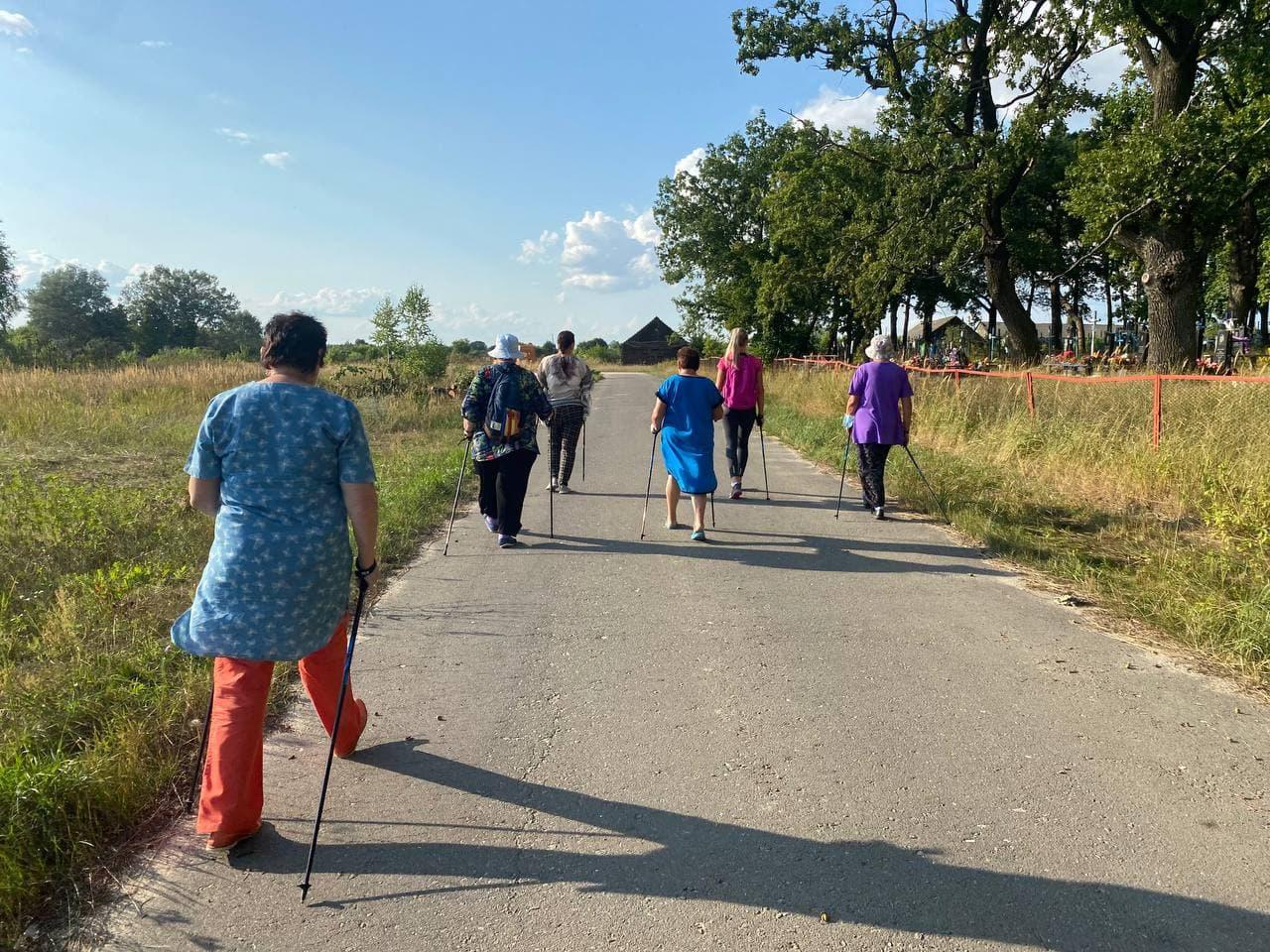 Дружественный визит в село Синий Колодец