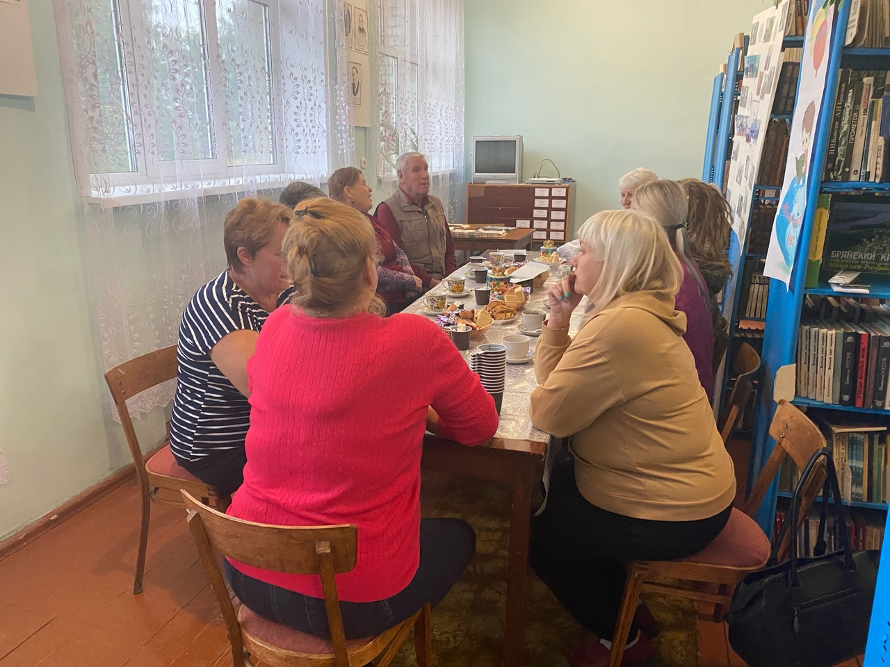Село Внуковичи: дружеская встреча участников проекта «Активные поколения»