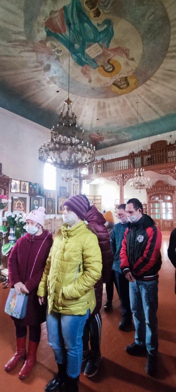 Посещение Храма во имя Святой Троицы.